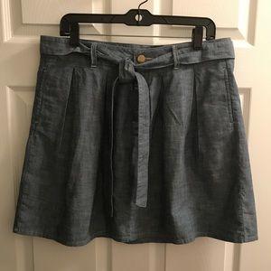 Gap denim skirt. Pre-loved size 10.